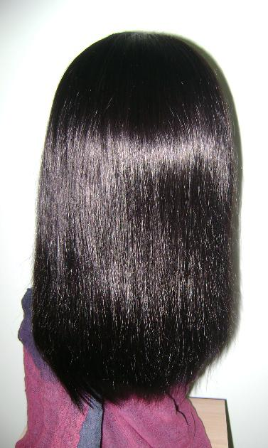 Virgin Hair Full Lace in 1B Color